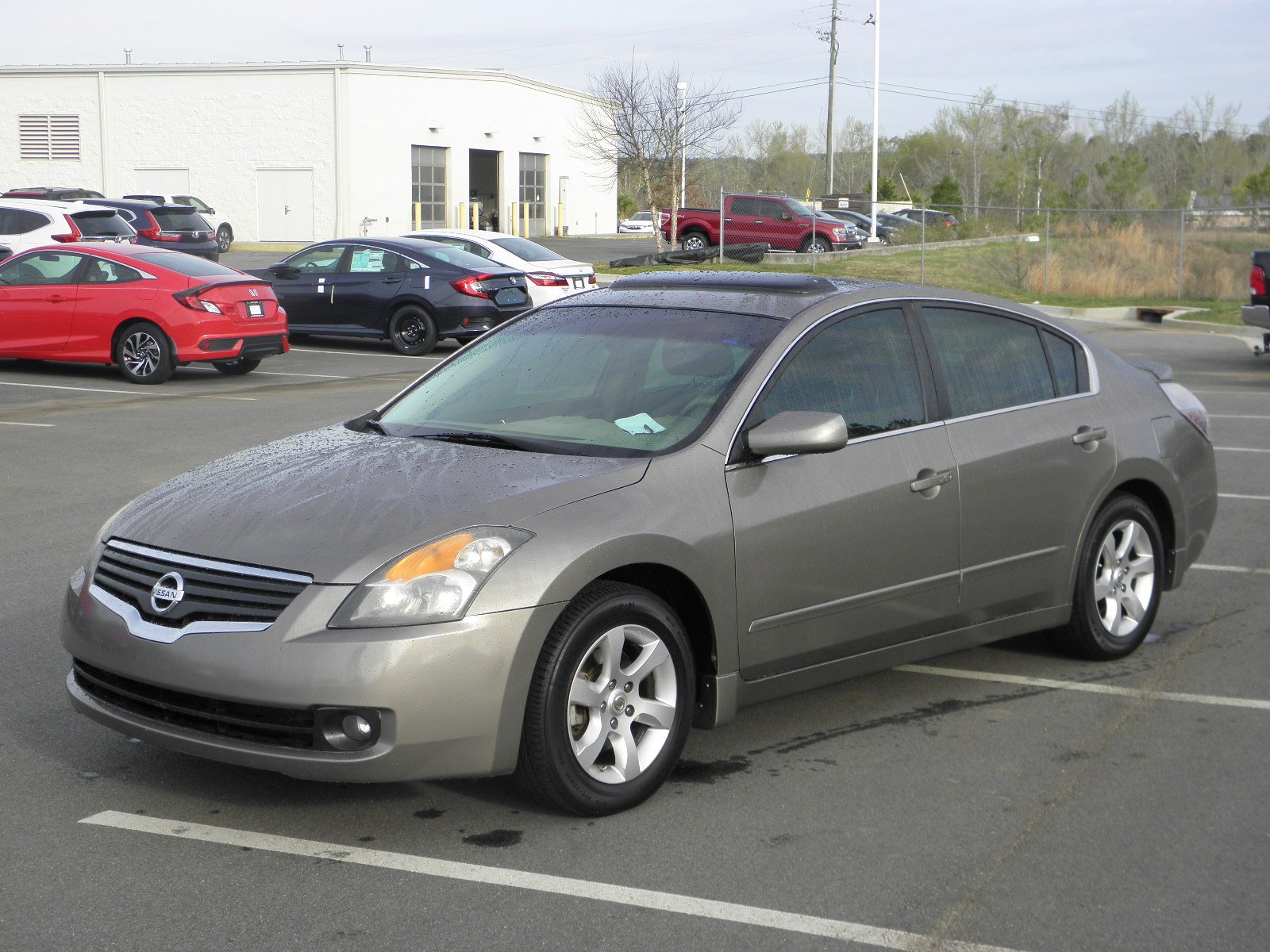 pre owned 2007 nissan altima 2 5 s 4dr car in milledgeville h17194a butler auto group. Black Bedroom Furniture Sets. Home Design Ideas