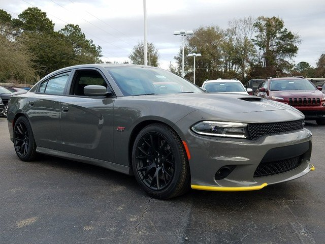 New 2018 Dodge Charger R T Scat Pack 4dr Car in Beaufort D
