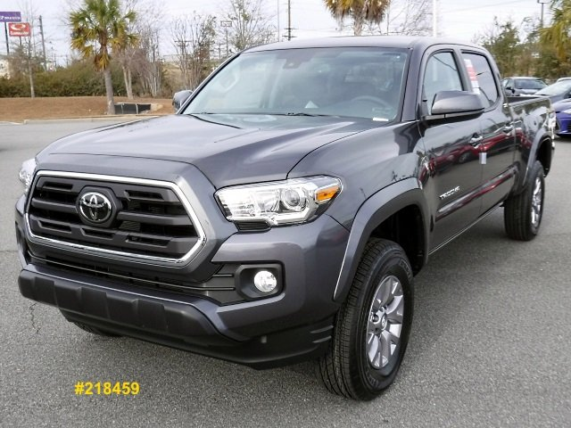 new 2018 toyota tacoma sr5 v6 long bed double cab crew cab pickup in valdsota 218459 butler. Black Bedroom Furniture Sets. Home Design Ideas