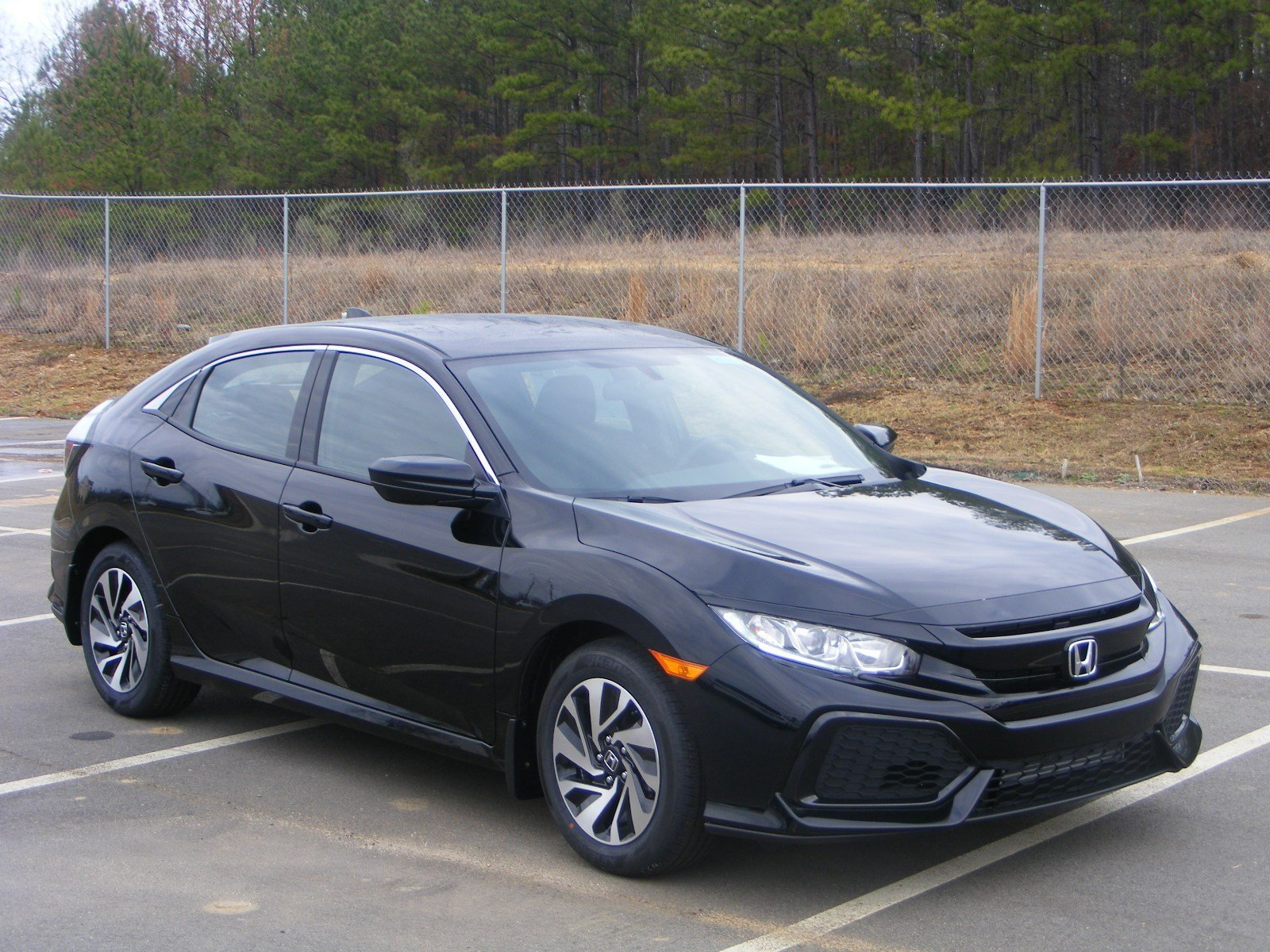 new 2017 honda civic hatchback lx hatchback in milledgeville h17161 butler auto group. Black Bedroom Furniture Sets. Home Design Ideas