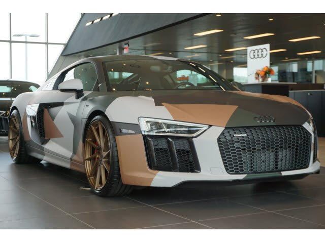 new 2018 audi r8 coupe v10 2dr car in union city j7900182 butler