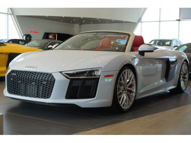 New 2018 Audi R8 Spyder V10 Convertible In Union City J7900085