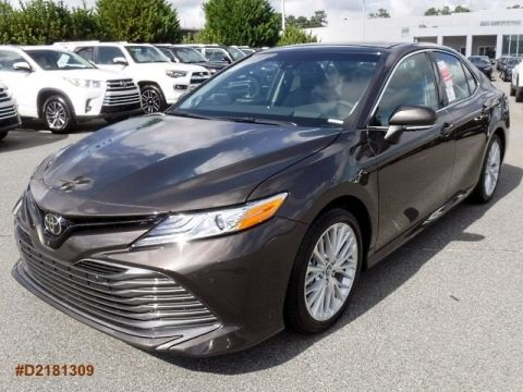 Butler Toyota Macon >> New 2018 Toyota Camry XLE V6 4dr Car in Macon #U506424 ...